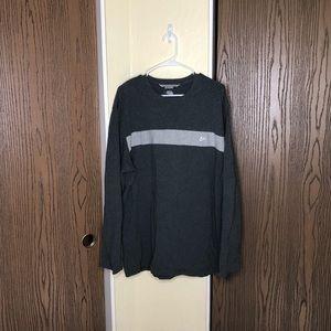 Nike | Long Sleeve T Shirt | Dark & Light Gray |XL